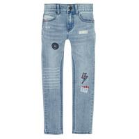 vaatteet Pojat Slim-farkut Ikks XR29053 Blue