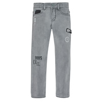 vaatteet Pojat Slim-farkut Ikks XR29123 Harmaa