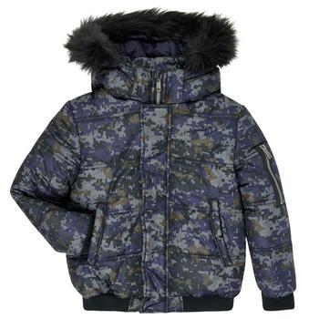 vaatteet Pojat Toppatakki Ikks XR41133 Sininen