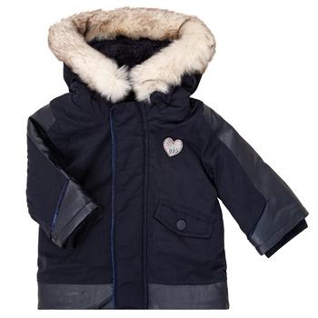 vaatteet Tytöt Parkatakki Ikks XR42000 Sininen