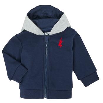 vaatteet Pojat Neuleet / Villatakit Ikks XR17001 Sininen