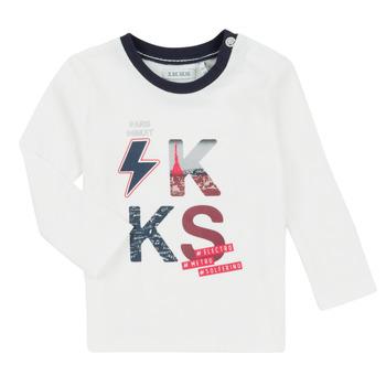 vaatteet Pojat Kokonaisuus Ikks XR36001 Valkoinen