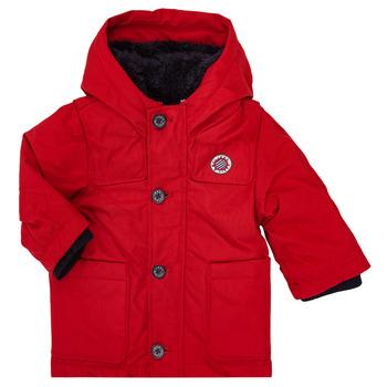 vaatteet Pojat Parkatakki Ikks XR42001 Punainen