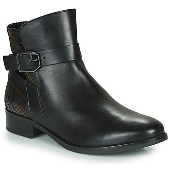 kengät Naiset Bootsit Caprice 25331-045 Musta