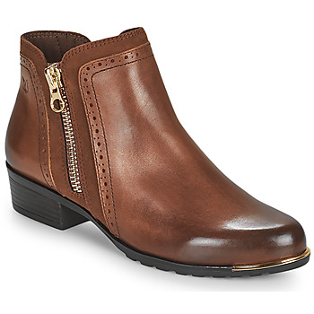 kengät Naiset Bootsit Caprice  Cognac