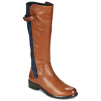 kengät Naiset Saappaat Caprice 25504-387 Konjakki / Sininen