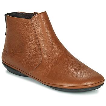 kengät Naiset Bootsit Camper RIGHT NINA Ruskea