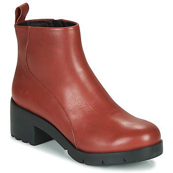 kengät Naiset Nilkkurit Camper WND0 Viininpunainen
