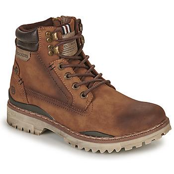 kengät Miehet Bootsit Dockers by Gerli 47LY001 Brown
