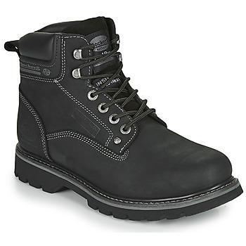 kengät Miehet Bootsit Dockers by Gerli 23DA004 Black