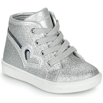 kengät Tytöt Korkeavartiset tennarit Chicco FLAMINIA Grey