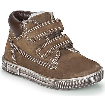 kengät Pojat Korkeavartiset tennarit Chicco CLAY Brown