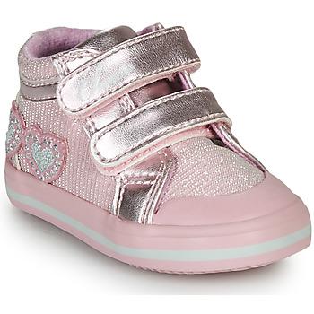 kengät Tytöt Korkeavartiset tennarit Chicco GEORGIAN Vaaleanpunainen