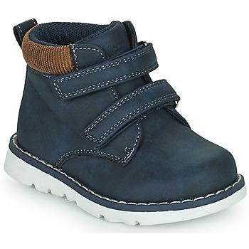 kengät Pojat Korkeavartiset tennarit Chicco FLOK Sininen