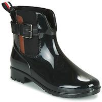 kengät Naiset Kumisaappaat Tom Tailor  Black