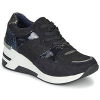 kengät Naiset Matalavartiset tennarit Tom Tailor 92610-BLEU Blue