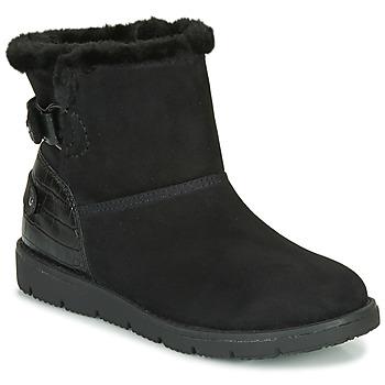 kengät Naiset Bootsit Tom Tailor 93105-NOIR Black