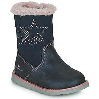 kengät Tytöt Saappaat Tom Tailor 72307-BLEU Blue