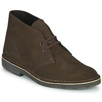 kengät Miehet Bootsit Clarks DESERT BOOT 2 Brown