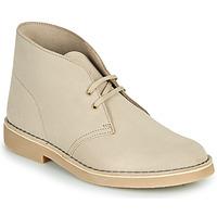 kengät Miehet Bootsit Clarks DESERT BOOT 2 Hiekka
