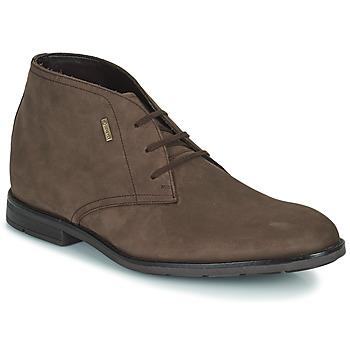 kengät Miehet Bootsit Clarks RONNIE LOGTX Ruskea