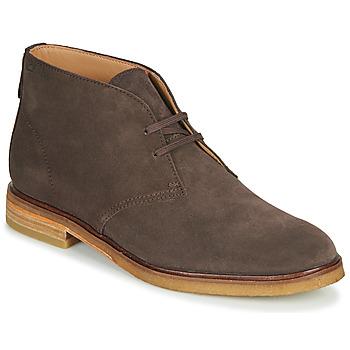 kengät Miehet Bootsit Clarks CLARKDALE DBT Ruskea