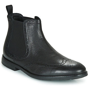 kengät Miehet Bootsit Clarks RONNIE TOP Black