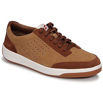 kengät Miehet Matalavartiset tennarit Clarks HERO AIR LACE Camel