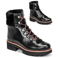 kengät Naiset Bootsit Clarks ORIANNA HIKER Musta