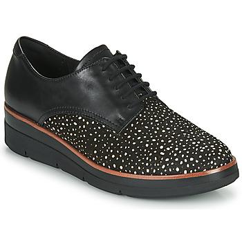 kengät Naiset Derby-kengät Clarks SHAYLIN LACE Black