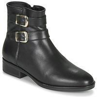 kengät Naiset Bootsit Clarks PURE MID Black