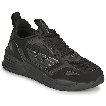 kengät Miehet Matalavartiset tennarit Emporio Armani EA7  Black