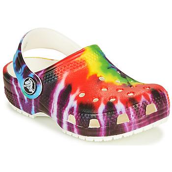 kengät Lapset Puukengät Crocs CLASSIC TIE DYE GRAPHIC CLOG K Multicolour