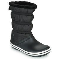 kengät Naiset Talvisaappaat Crocs CROCBAND BOOT W Black