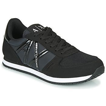 kengät Naiset Matalavartiset tennarit Armani Exchange XCC62-XDX031 Musta