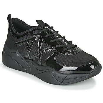 kengät Naiset Matalavartiset tennarit Armani Exchange BALDA Musta