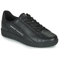 kengät Miehet Matalavartiset tennarit Armani Exchange XV262-XUX082 Musta