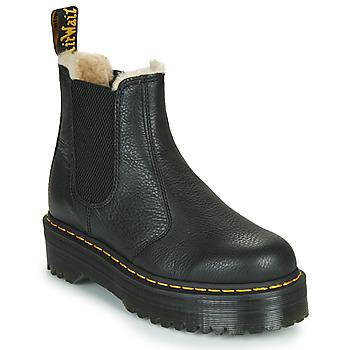 kengät Naiset Bootsit Dr Martens 2976 QUAD FL Black
