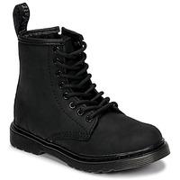 kengät Lapset Bootsit Dr Martens 1460 Serena Mono J Black