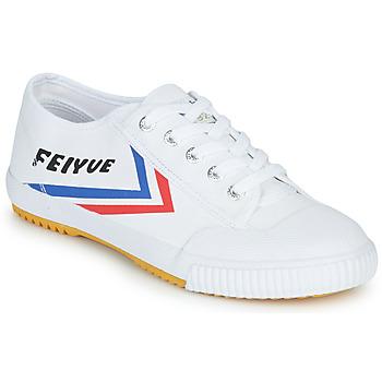 kengät Matalavartiset tennarit Feiyue FE LO 1920 Valkoinen / Sininen / Punainen