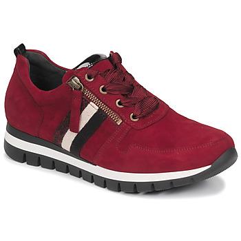 kengät Naiset Matalavartiset tennarit Gabor 5643538 Red