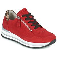 kengät Naiset Matalavartiset tennarit Gabor 5652838 Punainen