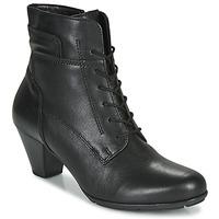 kengät Naiset Nilkkurit Gabor 5564427 Black