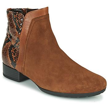 kengät Naiset Nilkkurit Gabor 5271235 Kamelinruskea