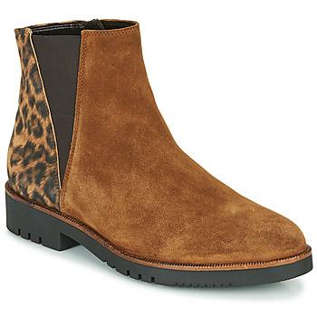 kengät Naiset Nilkkurit Gabor 5658143 Konjakki