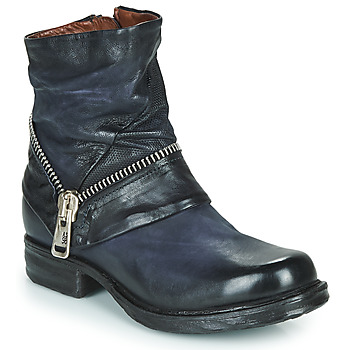 kengät Naiset Bootsit Airstep / A.S.98 SAINT EC ZIP NEW Blue
