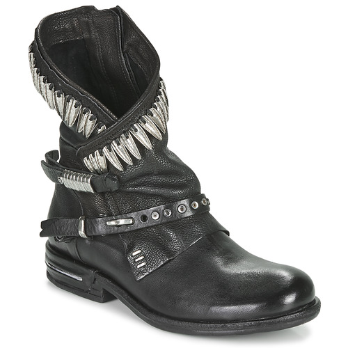 kengät Naiset Bootsit Airstep / A.S.98 TIAL FOGLIE Musta