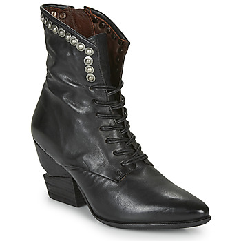 kengät Naiset Nilkkurit Airstep / A.S.98 TINGET LACE Musta