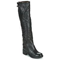 kengät Naiset Saappaat Airstep / A.S.98 NOVA 17 HIGH Black