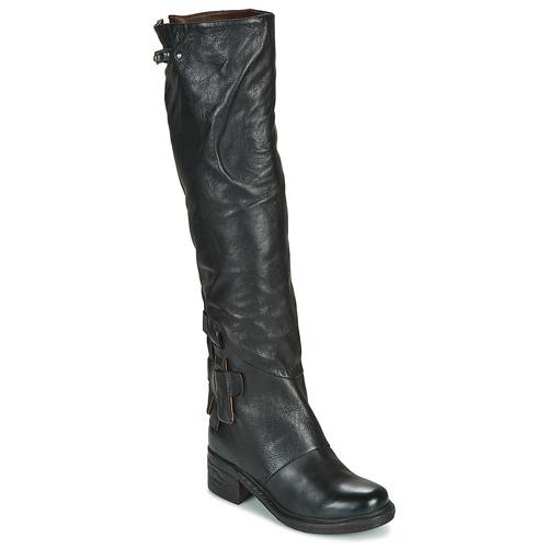 kengät Naiset Saappaat Airstep / A.S.98 NOVA 17 HIGH Musta